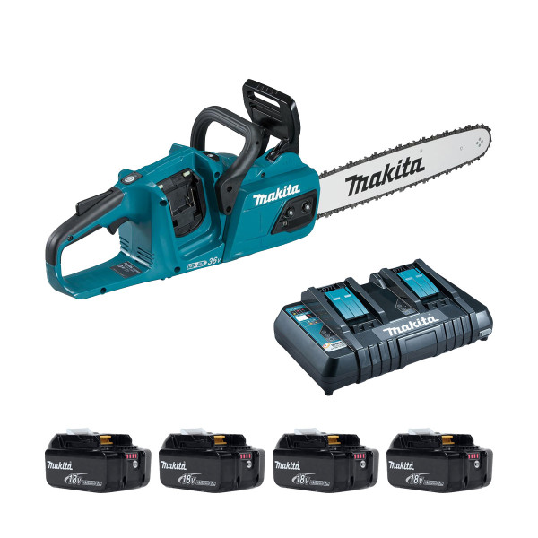 Makita DUC405P Twin 18v Brushless Chainsaw (All Versions)