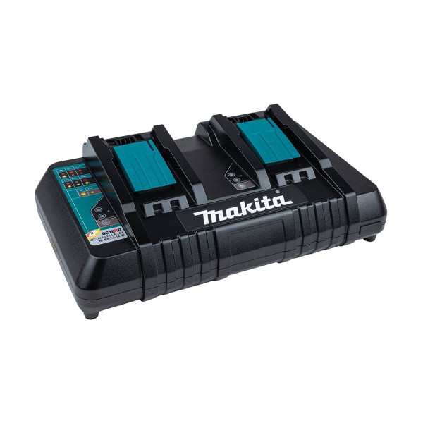 Makita DC18RD Twin Rapid 14.4v/18v Li-Ion Battery Charger (240v)