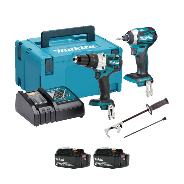 Makita DLX2176TJ 18v Brushless 2 Piece Kit (2x5Ah)