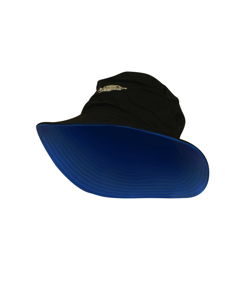 ADULT BUCKET HAT BLACK OCEAN BLUE - Stingray International 41024eead1d