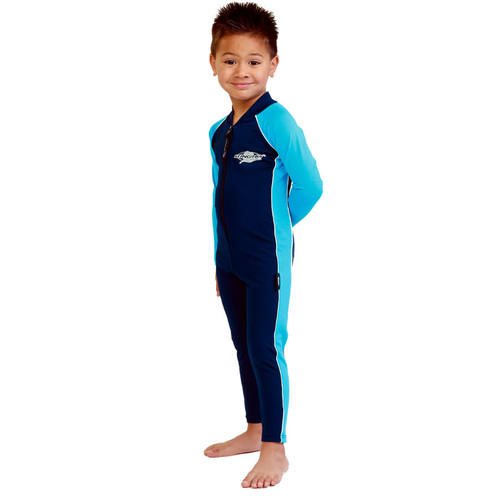 KIDS STINGER SUIT NAVY AZURE