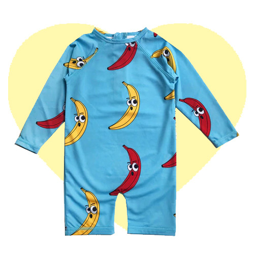 Rash Guard - Banana-Blue