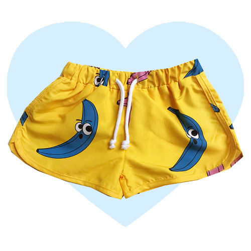 Swim Trunks - Banana-Yellow