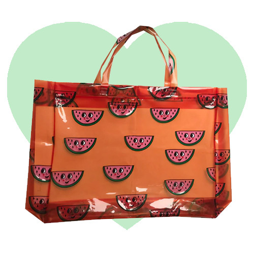 Beach Bag - Watermelon-Orange