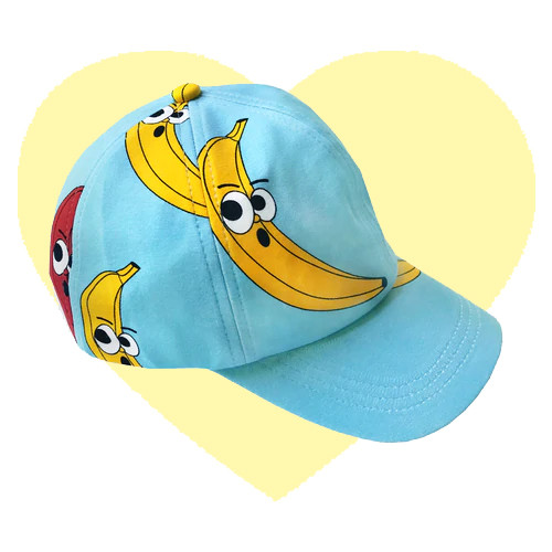 Hat - Banana-Blue