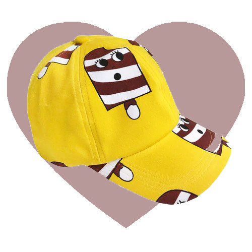 Hat - Ice Cream-Yellow