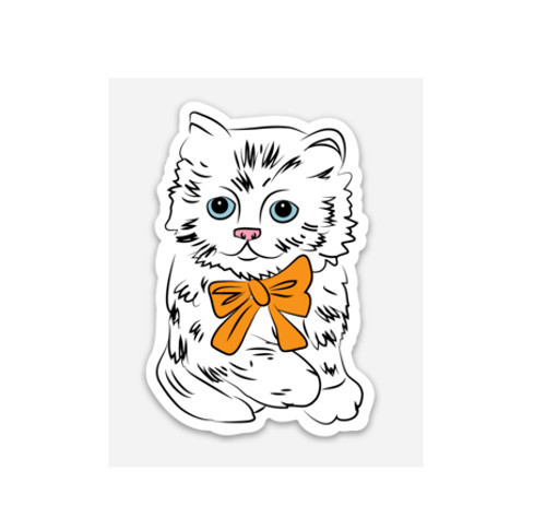 KITTY - Vinyl Sticker (weather proof)