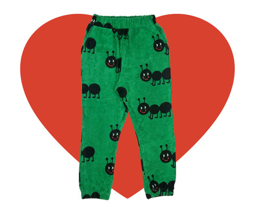Terry 80's Sweatpants - Ants-Green