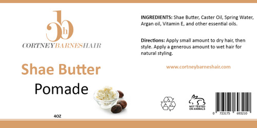 Our unique blend of shea butter, olive oil and other essential oils is sure to provide your hair with the nourishment and vitamins it needs. Aswell as, assist with hydrating your hair and skin, providing it with luster and shine.