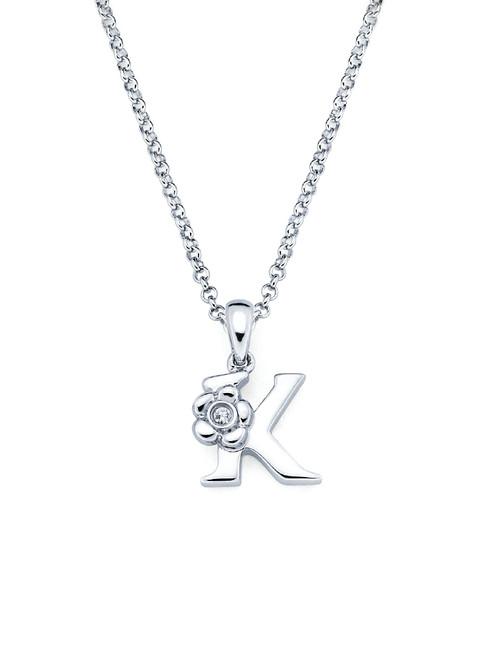 Initial Pendant Necklace - Letter K