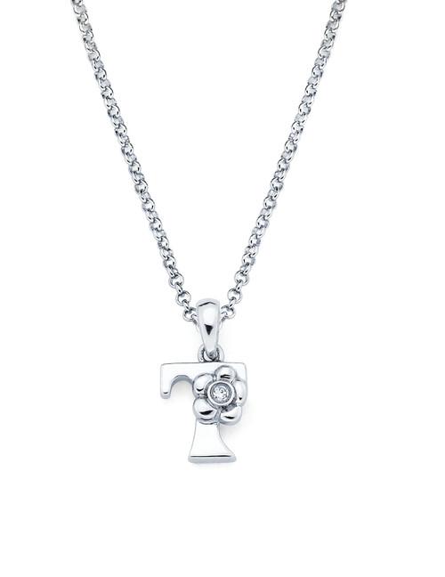 Initial Pendant Necklace - Letter T