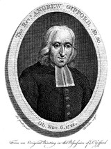 The 13th essay in The British Particular Baptists, Volume 1, Revised is on Andrew Gifford, Sr. (1641-1721)