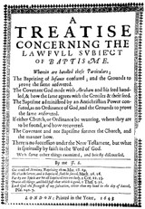 John Spilsbury (1593-ca.1662/1668) is the second essay in The British Particular Baptists, Volume 1 Revised
