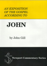 ​An Exposition of the Gospel of John by John Gill is back in print!