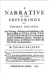 Thomas Delaune (ca.1635-1687/88) is the 10th essay in British Particular Baptists, volume 1, revised