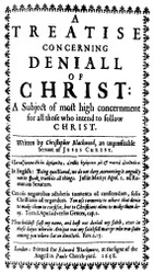 Blackwood (1605-1670) is the 6th essay in The British Particular Baptists, Volume 1, Revised