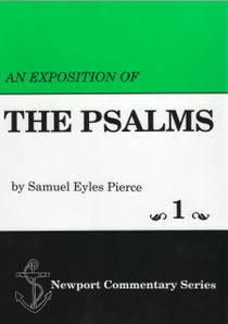 Psalms 1 dust jacket front