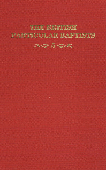 British Particular Baptists Vol 5 book cover