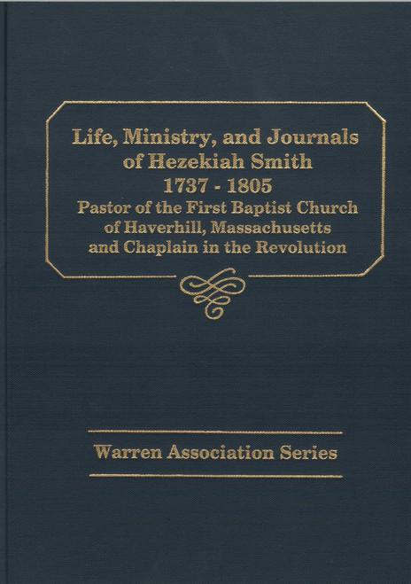 Hezekiah Smith book cover