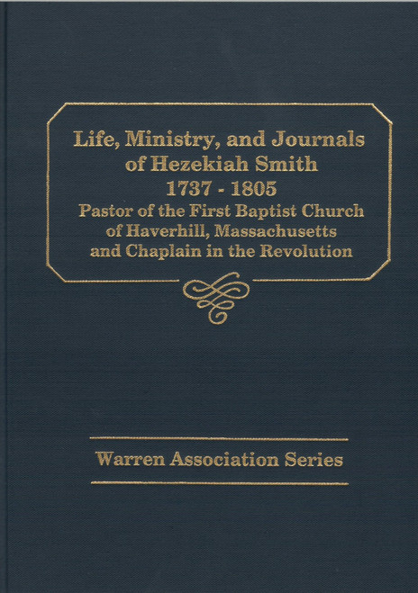 Hezekiah Smith book cover