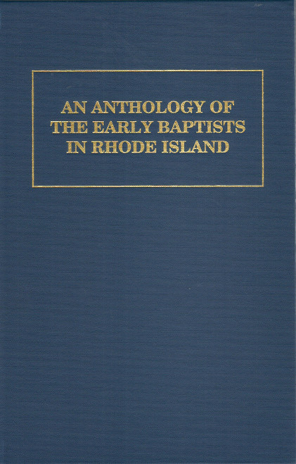 Anthology of Early Baptists in Rhode Island