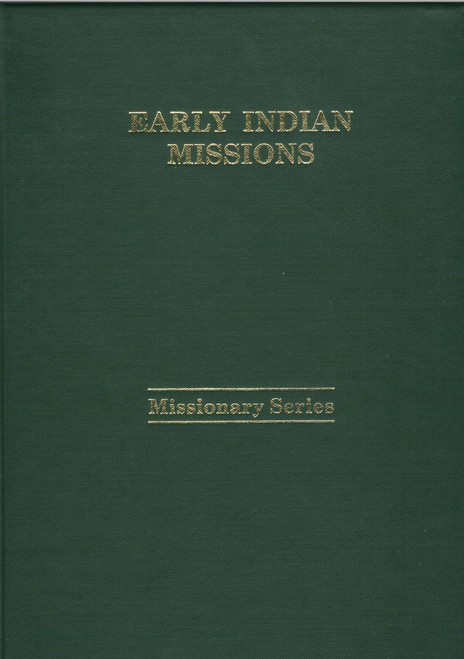 Early Indian Missions book cover
