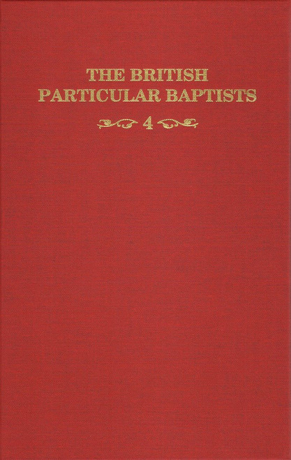 British Particular Baptists Vol 4 book cover