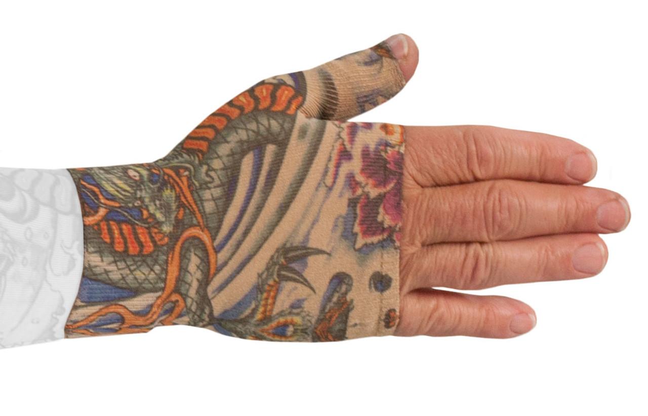 Lotus Dragon Tattoo Gauntlet
