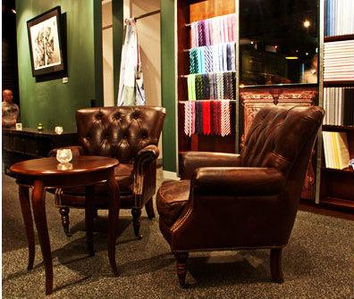 See Canalside Interiors' furniture @ Shirt Bar Image C/- facebook.com/shirtbar