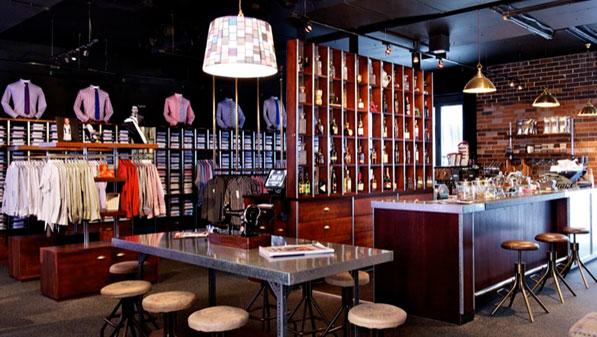 See Canalside Interiors' furniture @ Shirt Bar Image C/- shirtbar.com.au
