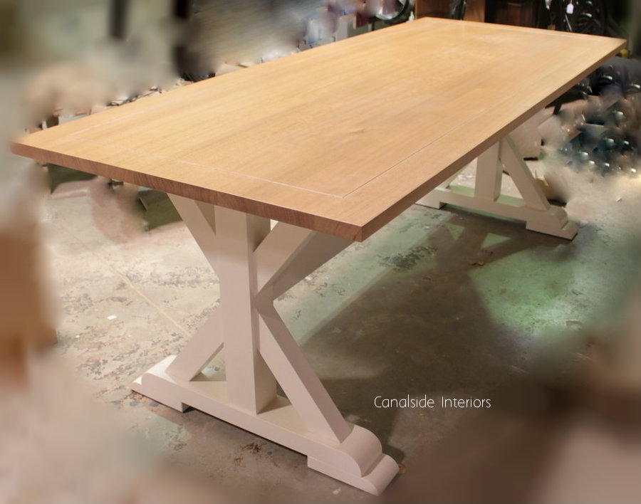 Custom Made Lyon Dining Table by Canalside Interiors