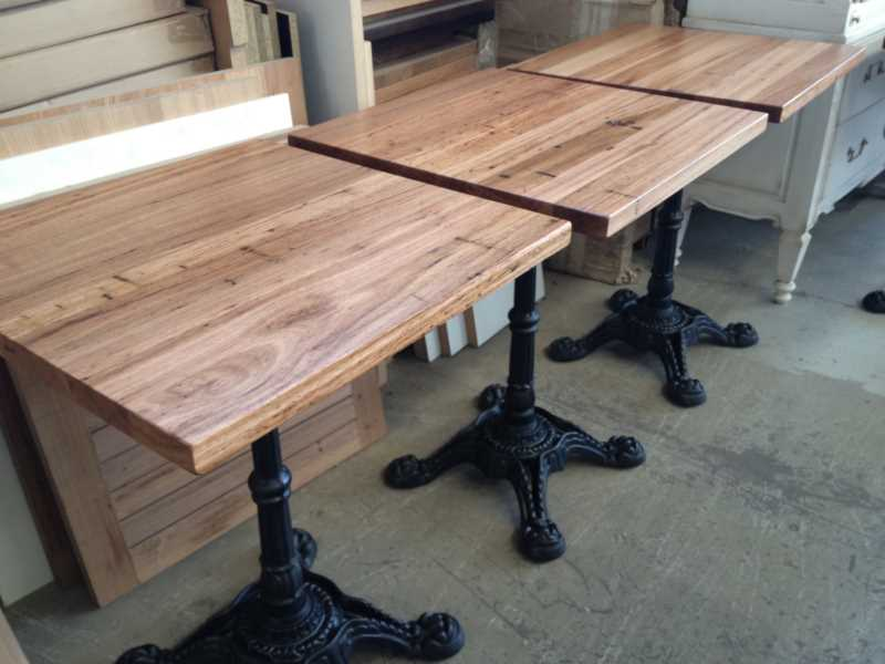 *Cafe Table Tops - CUSTOM MADE to your size