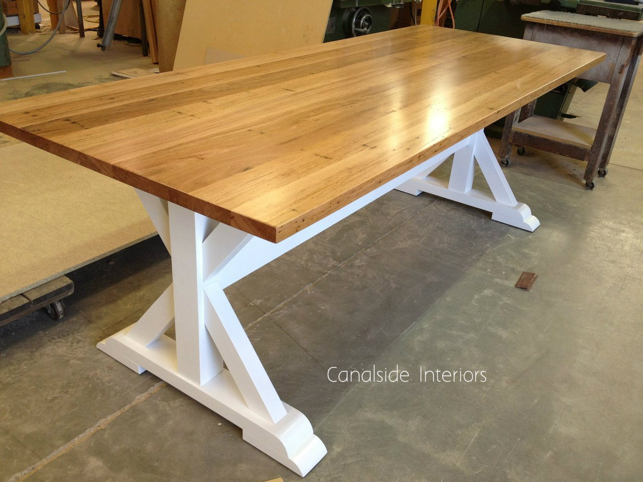 Custom Made Dining Table - Lyon Dining Table - MADE TO YOUR SIZE