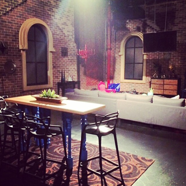 Canalside Interiors' furniture features on the set of The Voice Australia Image C/- instagram.com/thevoiceau