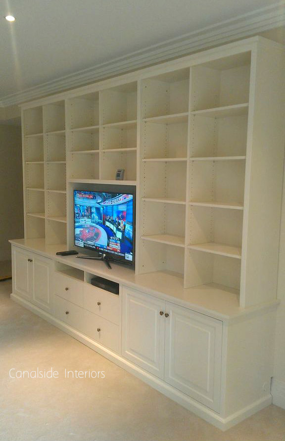 Custom Made Wall Units - Bellevue Hill Premises