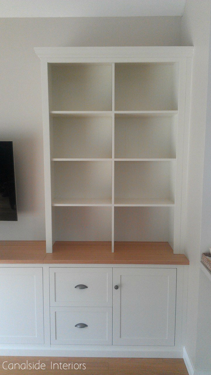 Custom Made Wall TV Entertainment Units - Dover Heights Premises