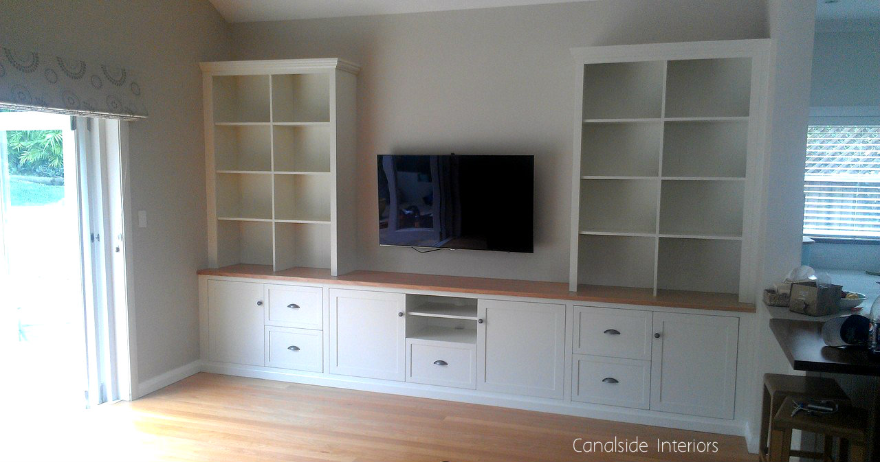 *Custom Wall TV Entertainment Units - Dover Heights Premises