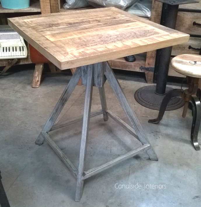 Trig Industrial Cafe Style Table