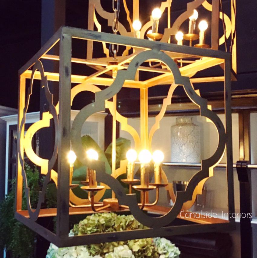 Joffrey Antique Gold Chandelier  LIGHTING, LIGHTING Chandeliers & Pendants