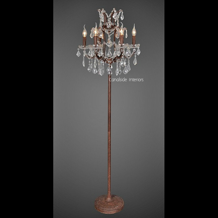 Florian Industrial Floor Lamp