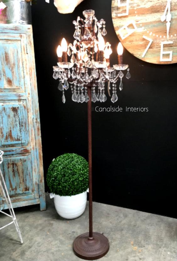 Florian Industrial Floor Lamp  LIGHTING, LIGHTING Lamps