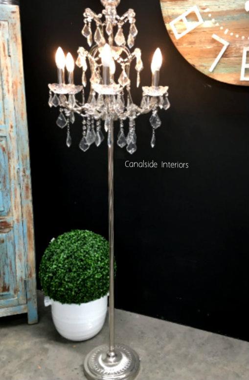 Florian Silver Floor Lamp