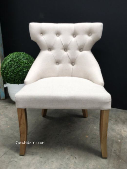 Darcy Buttoned Back Upholstered Dining Chair