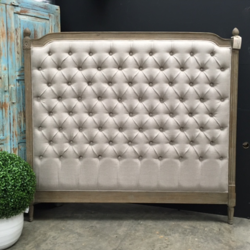 Fairmount Button Back Upholstered Headboard - Queen - Sold Out - More Coming Soon