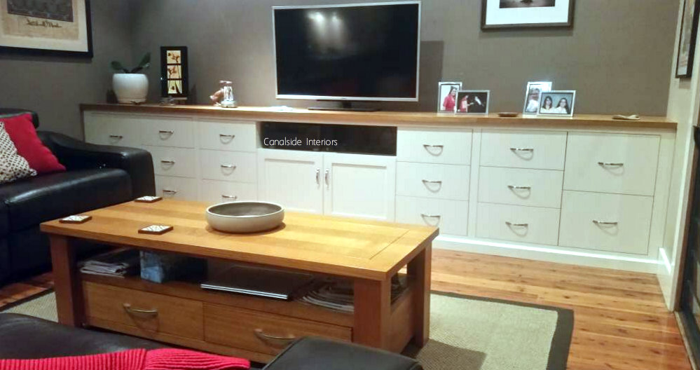 Custom TV Entertainment Unit - VI