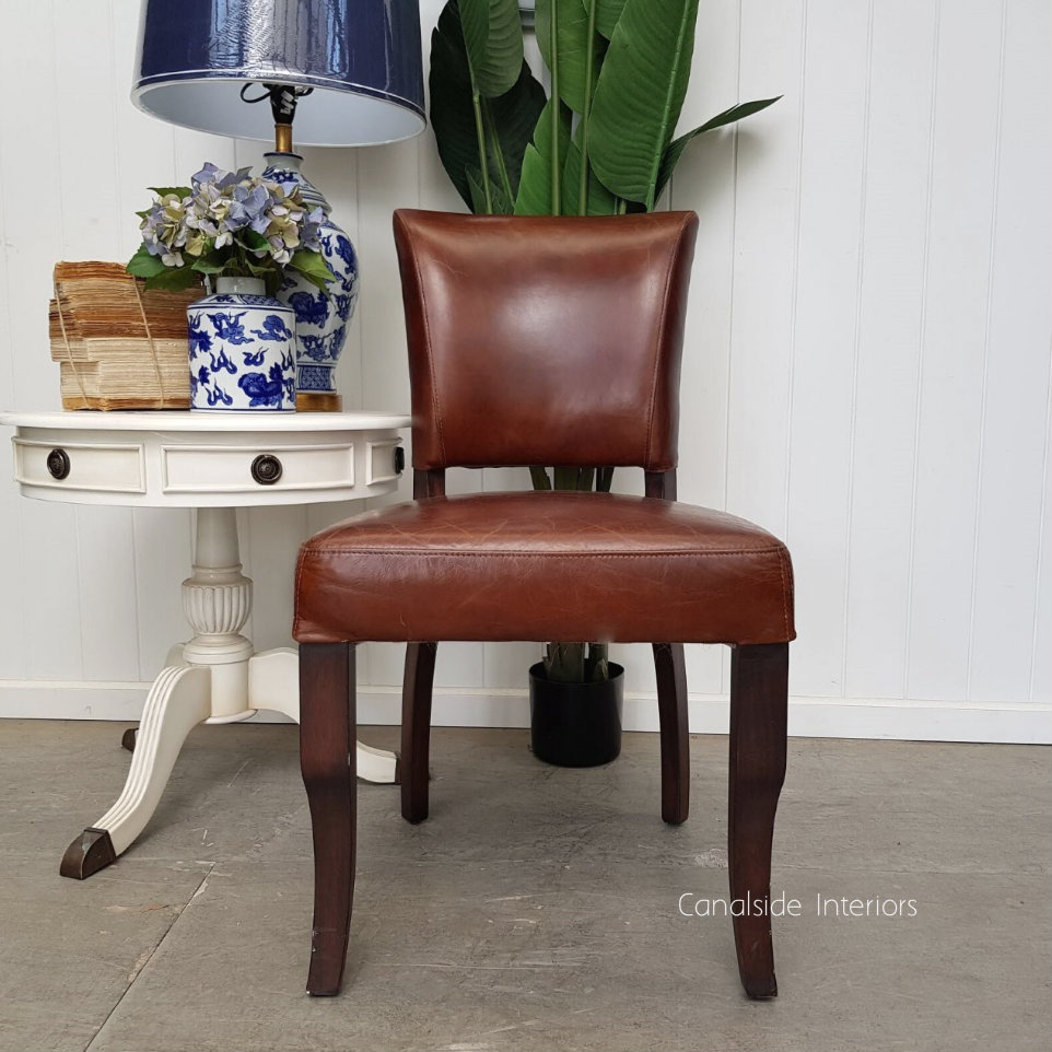 Cuba Aged Leather Dining Chairs Dining, CHAIRS, AGED LEATHER, CHAIRS Dining
