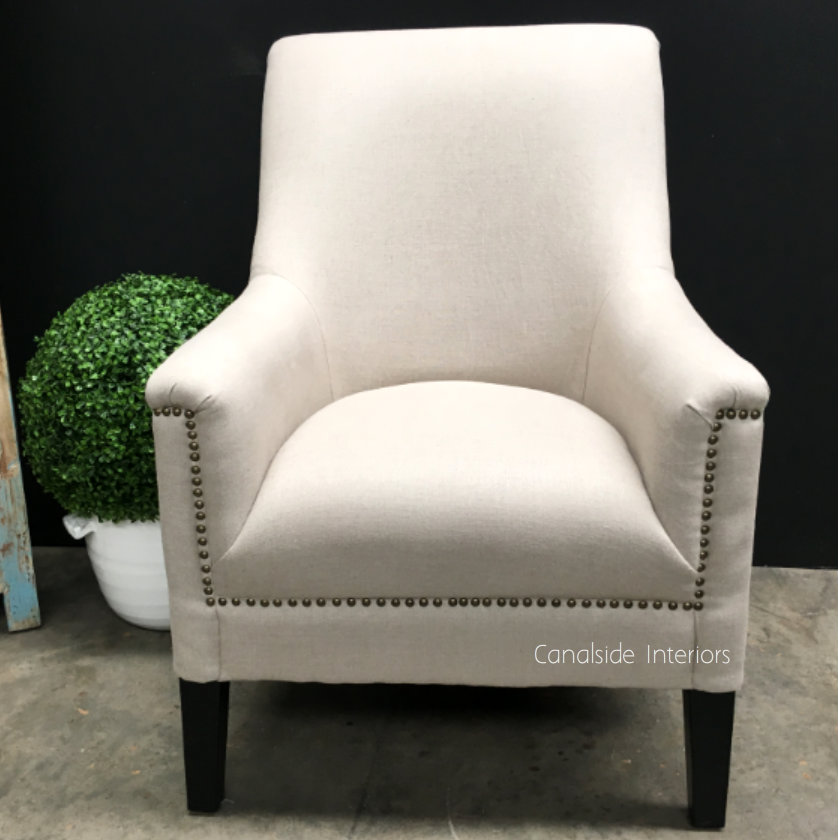 Specter Occasional Armchair with stud detailing