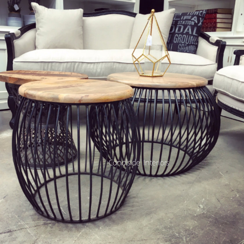 Cabana Coffee Table Distressed Black  INDUSTRIAL RUSTIC Style, CAFE FURNITURE, TABLES, TABLES Coffee Tables, LIVING Room, LIVING Coffee & Side Tables, CAFE FURNITURE Table Tops & Tables, CAFE FURNITURE Stools & Chairs, PLANTATION STYLE