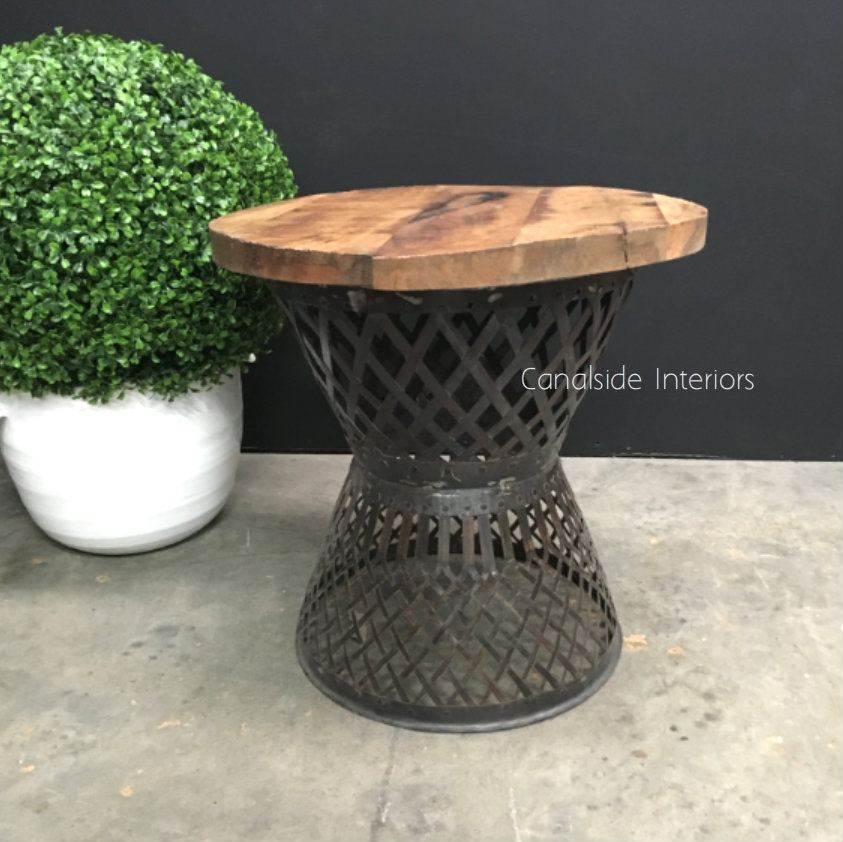 Cagey Side Table