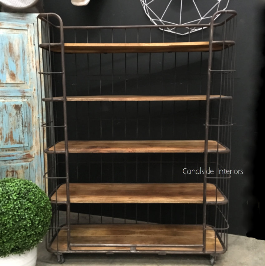 Caged Baker's Wide Rack